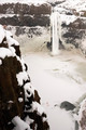 Palouse River Falls Frozen Water Wilderness Waterfall Winter Freeze - PhotoDune Item for Sale