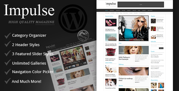 Impulse - Clean Magazine Theme - Blog / Magazine WordPress
