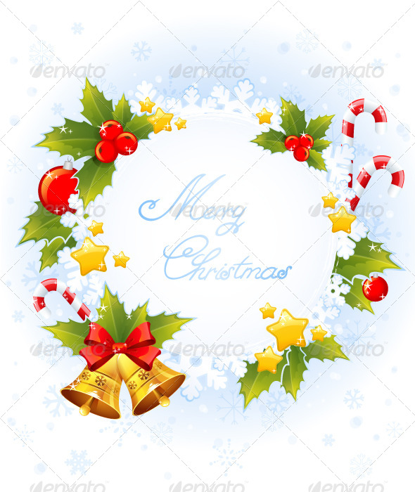 GraphicRiver Christmas Decorative Celebration Card 5899442