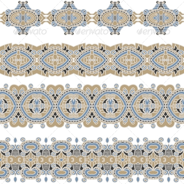 GraphicRiver Ornamental Seamless Pattern 5899657