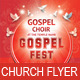 Gospel Fest Church Flyer Template - GraphicRiver Item for Sale