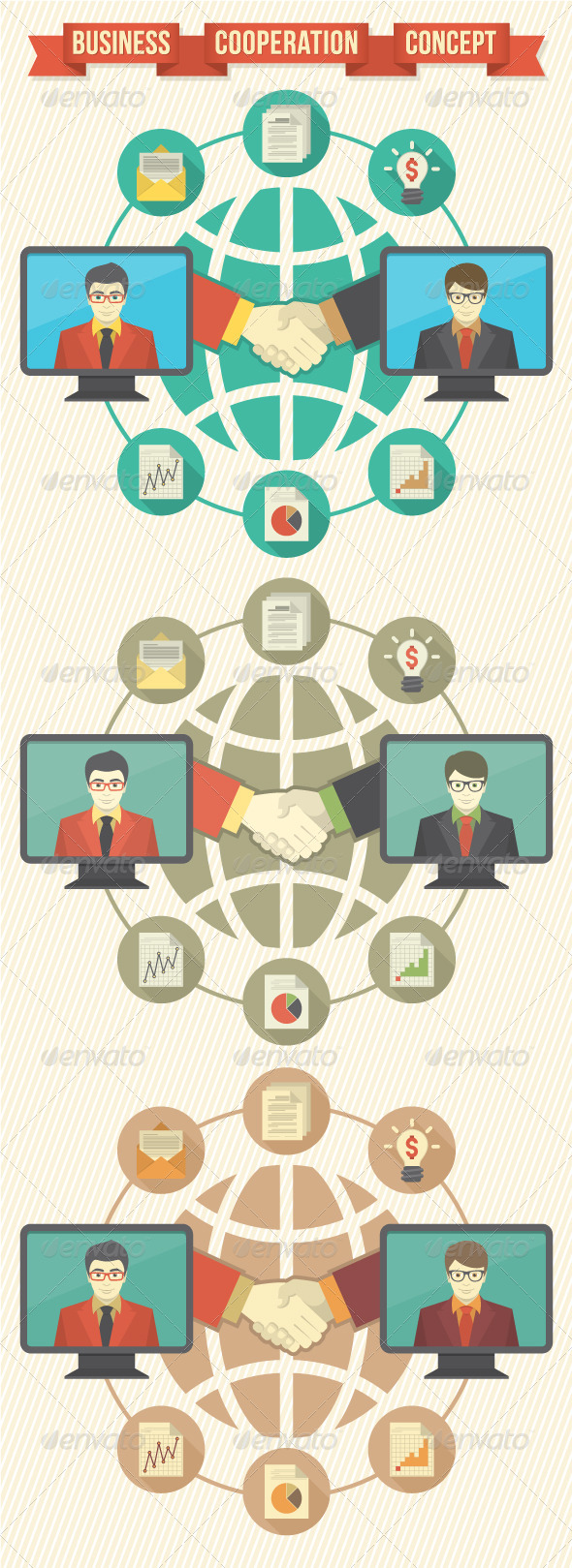 GraphicRiver Business Cooperation Concept 5900401