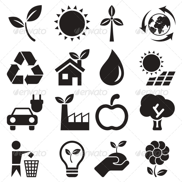 GraphicRiver Ecology Icons 5900614