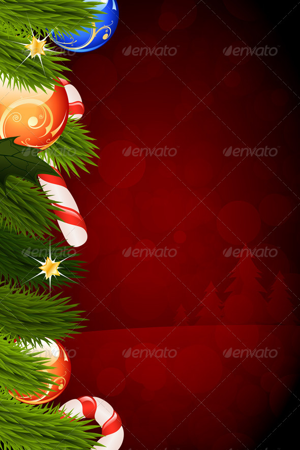 GraphicRiver Christmas Card Template 5901361