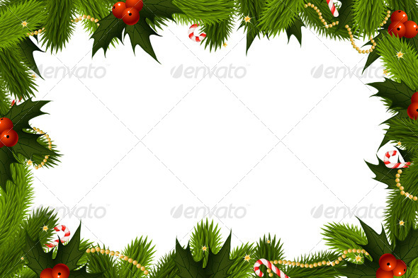 GraphicRiver Christmas Frame 5901462
