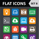 Universal Colorful Flat Icons. Set 8. - GraphicRiver Item for Sale