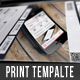 Flat Corporate Flyer Template - GraphicRiver Item for Sale