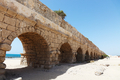 Ancient aqueduct at Caesarea. Israel - PhotoDune Item for Sale