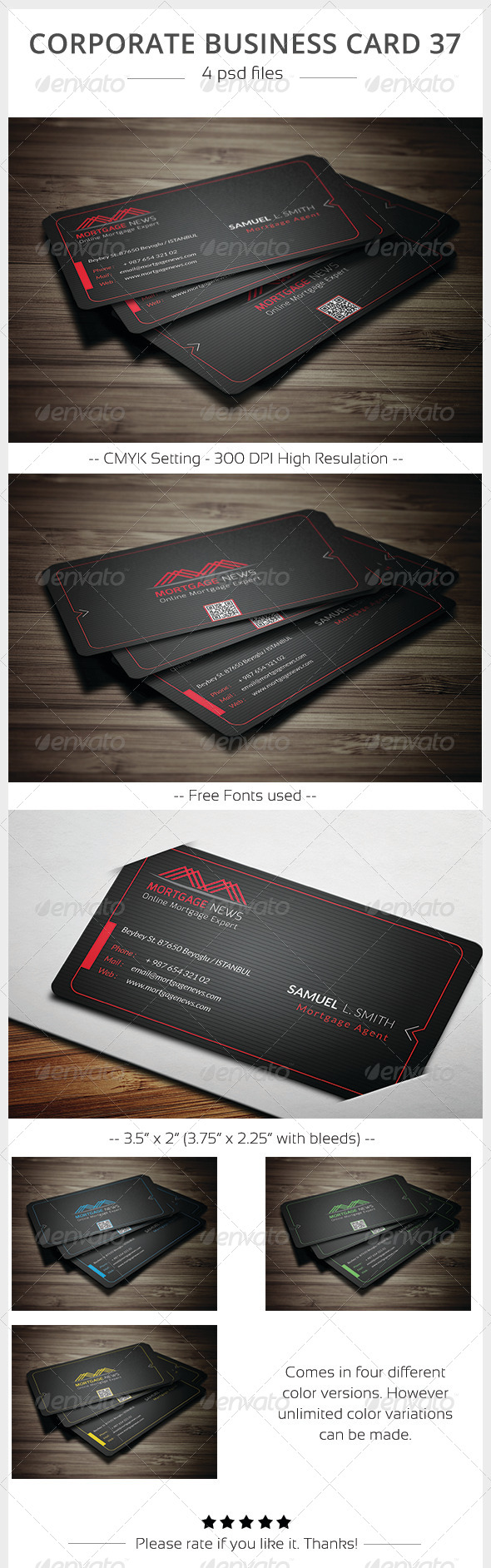 GraphicRiver Corporate Business Card 37 5902760