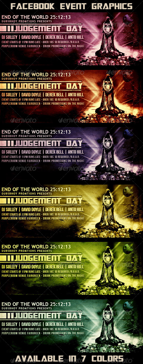 GraphicRiver Judgement Day Facebook Event 5903440