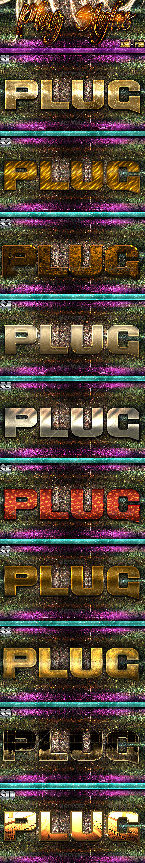 GraphicRiver Plug Styles 5903462