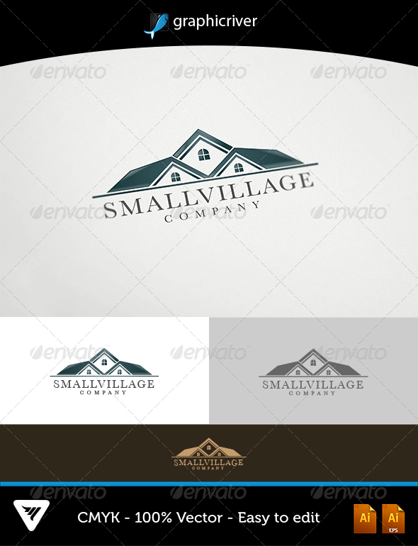 GraphicRiver SmallVillage Logo 5903671