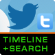 PHP Twitter User Timeline & Search Plugin - CodeCanyon Item for Sale