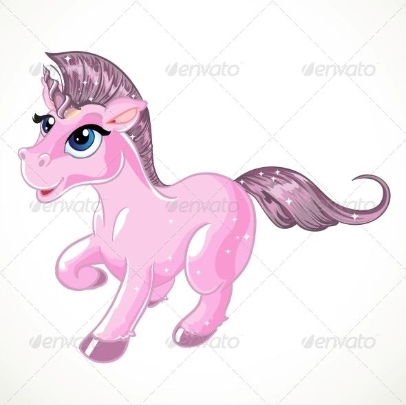 GraphicRiver Pink Unicorn 5904041
