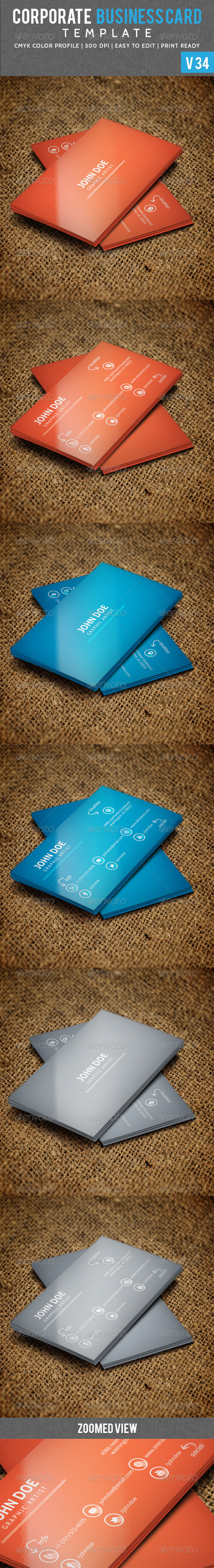 GraphicRiver Long Shaded Corporate Business Card V 34 5904174