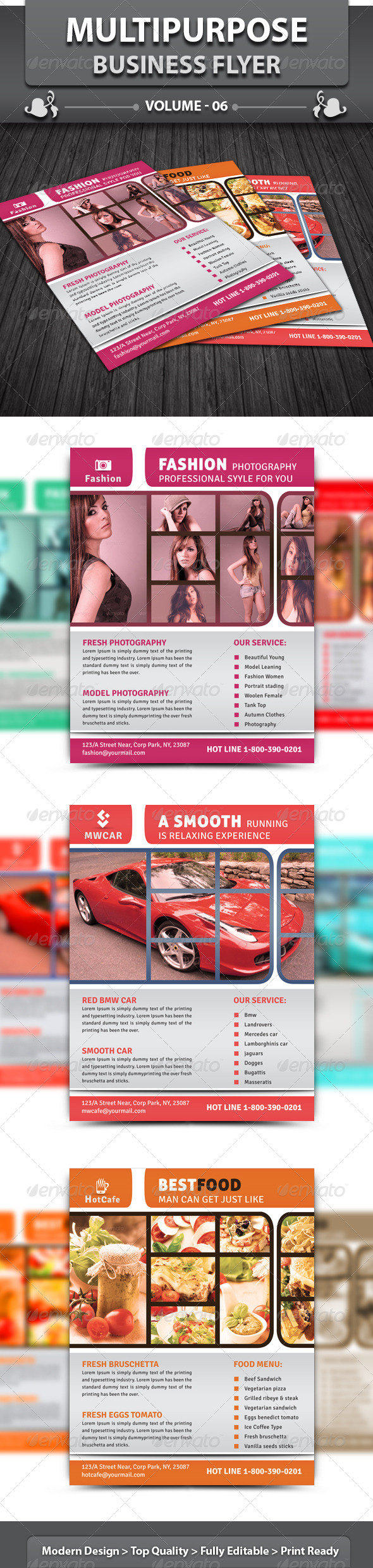 GraphicRiver Multipurpose Business Flyer v6 5904529