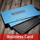 Dark & Blue  Business Card - GraphicRiver Item for Sale