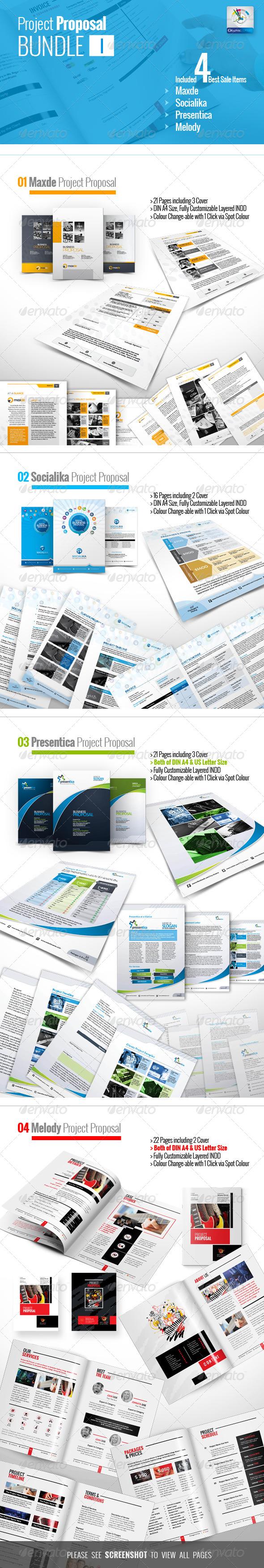 GraphicRiver Project Proposal Bundle I 5905155