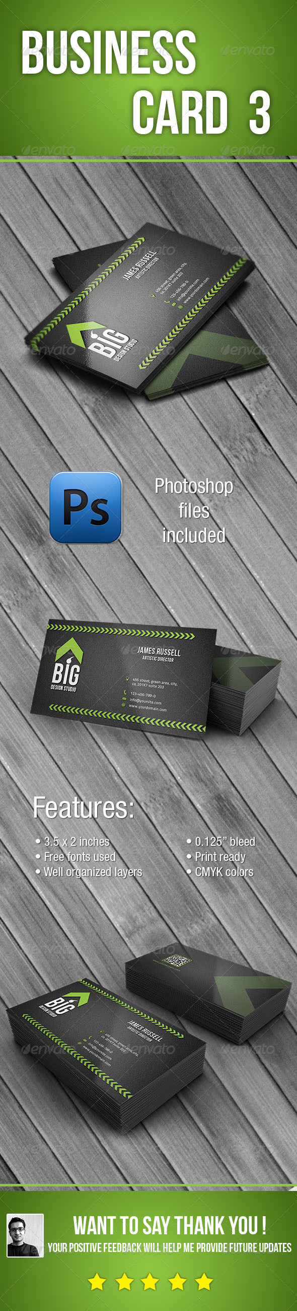 Business Card 3 - Creative Business Cards