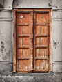 Old wooden door - Indian architecture - PhotoDune Item for Sale