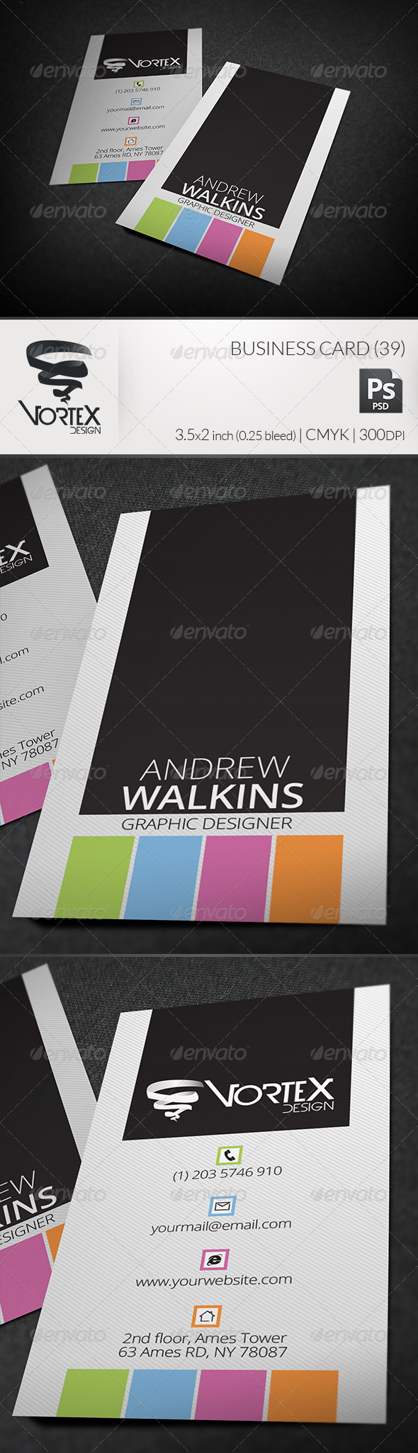 GraphicRiver Business Card 39 5906563