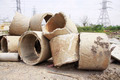 Concrete pipe pile - PhotoDune Item for Sale