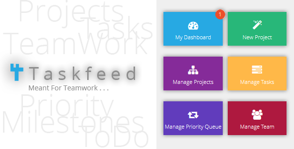 CodeCanyon Taskfeed Project Management Software 5907702