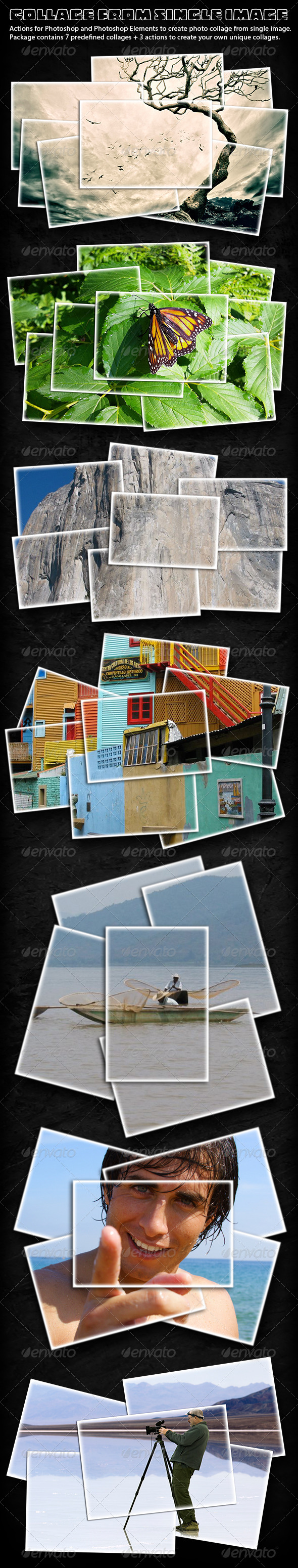 GraphicRiver Collage From Single Image Actions 5908561