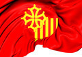 Flag of Languedoc-Roussillon - PhotoDune Item for Sale