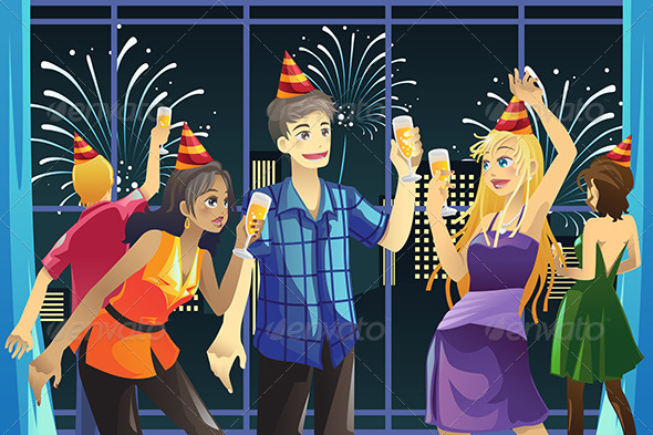 GraphicRiver New Year Celebration Party 5911988