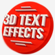 15 Various 3D Text Effects - Pack - GraphicRiver Item for Sale