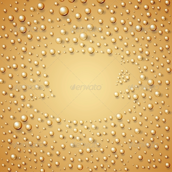 GraphicRiver Coffee Cup Made From Water Drops 5912495