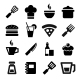 Kitchen Icons - GraphicRiver Item for Sale