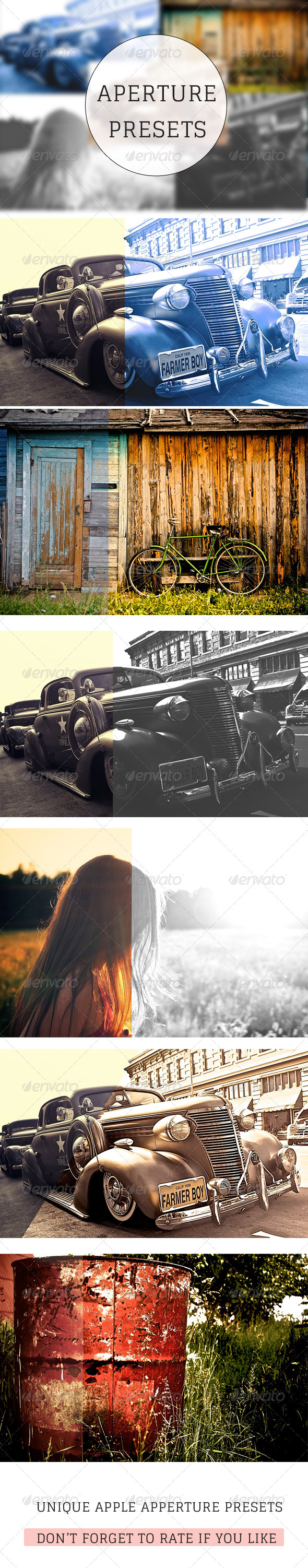GraphicRiver Cinematic Apperture Presets 5913609