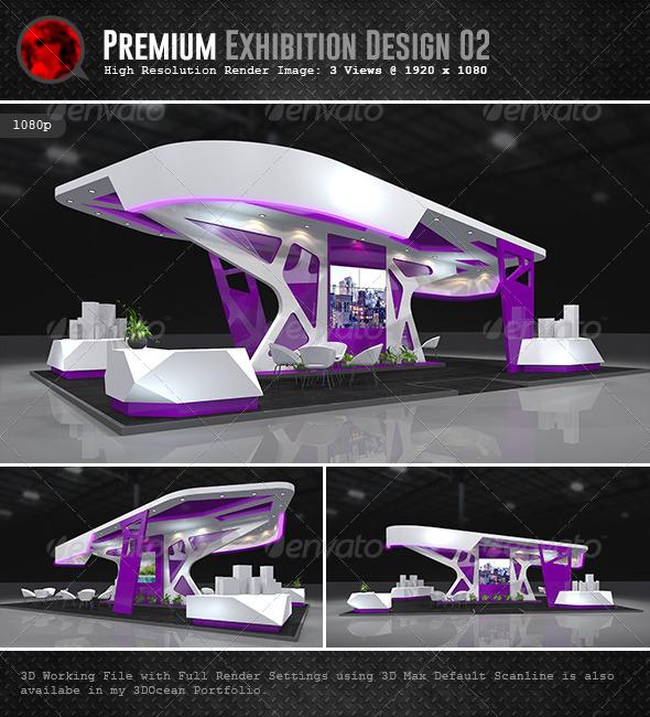 Exhibition Stand Design 3d Model Free Download : Premium exhibition design graphicriver