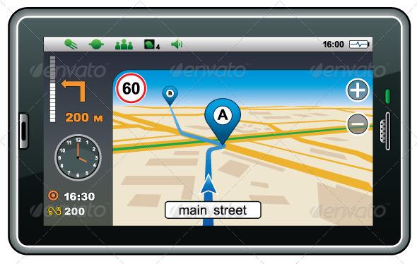 GraphicRiver GPS Navigator 5914286