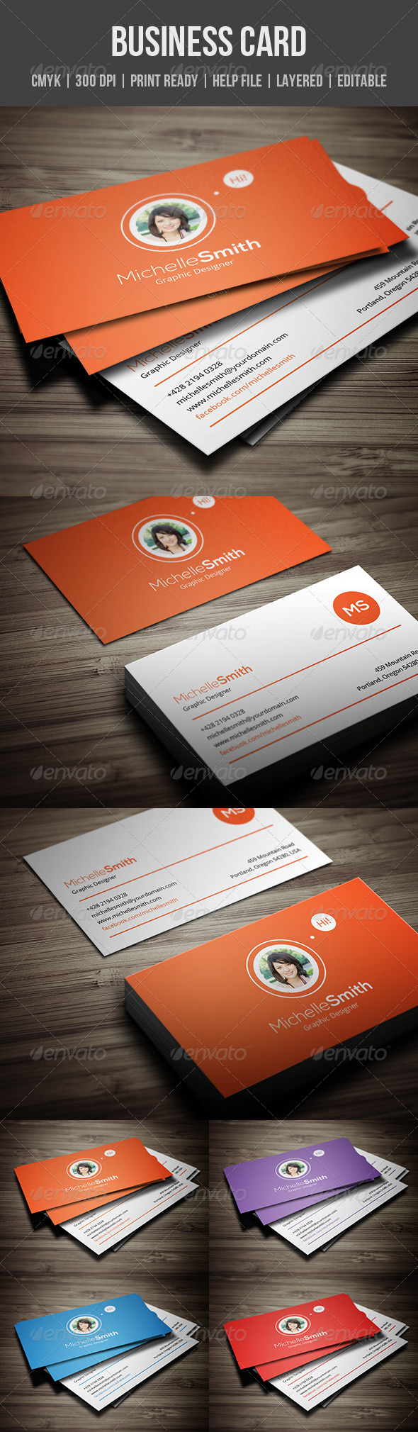 GraphicRiver Personal Business Card 5915217