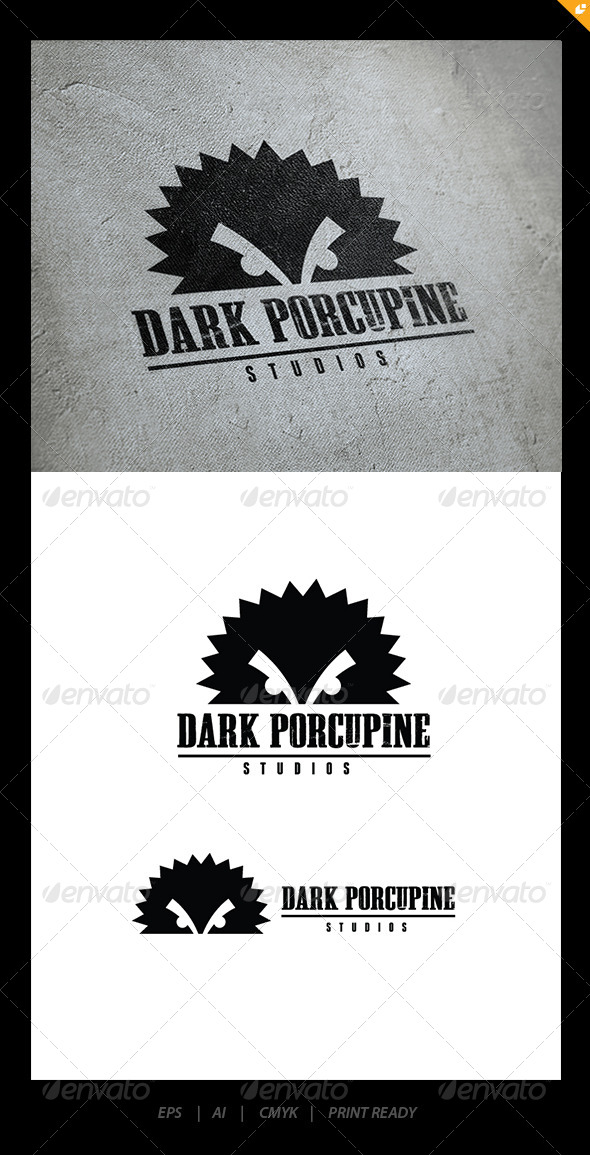 GraphicRiver Dark Porcupine 5915272