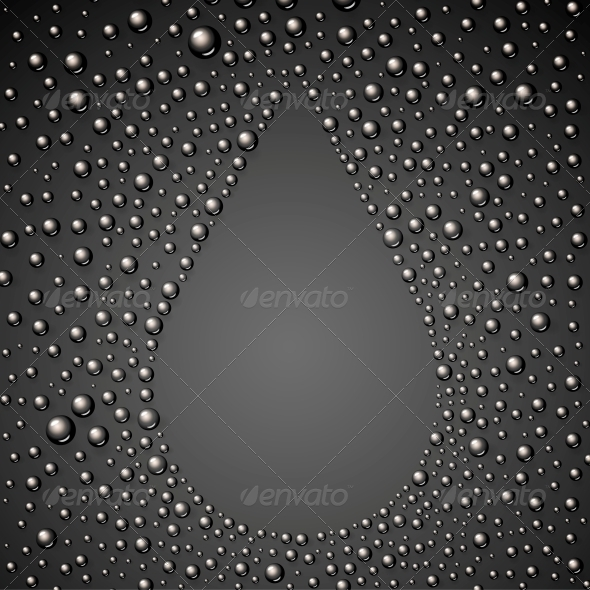 GraphicRiver Oil Drop Abstraction 5915354