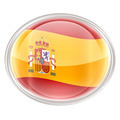 Spain Flag Icon, isolated on white background - PhotoDune Item for Sale