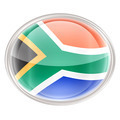 South Africa Flag icon, isolated on white background - PhotoDune Item for Sale