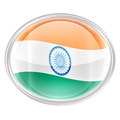 India Flag icon, isolated on white background - PhotoDune Item for Sale