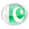 Pakistan Flag Icon, isolated on white background. - PhotoDune Item for Sale