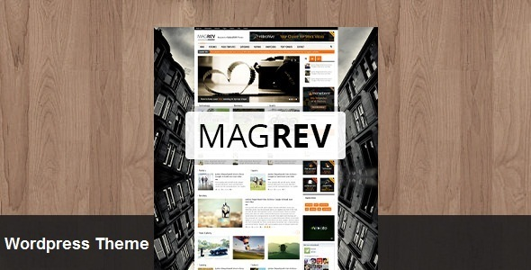 ThemeForest Magrev Magazine & News Wordpress Theme 5916538