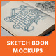 Sketch Book Mockups - GraphicRiver Item for Sale