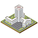 Isometric Hospital Building - GraphicRiver Item for Sale