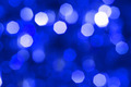 Defocused abstract blue christmas background - PhotoDune Item for Sale