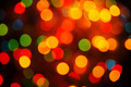 Defocused abstract multicolor christmas background - PhotoDune Item for Sale