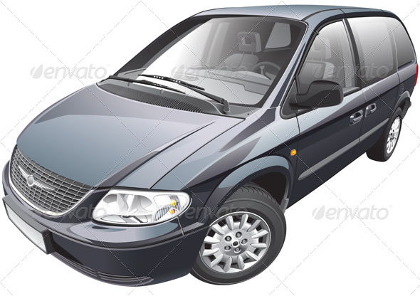 GraphicRiver American Minivan 5917232