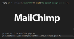 MailChimp Collection